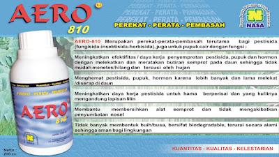 """""""aero-810 perekat pembasah perata campuran pestisida natural nusantara distributor resmi nasa pentana"""""""