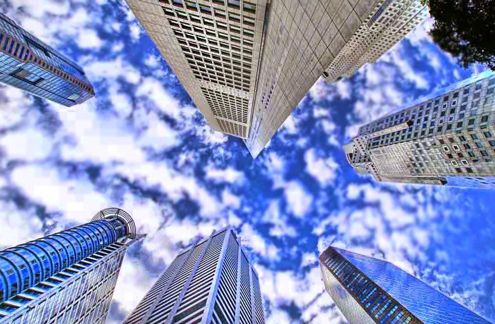 cielo edificios