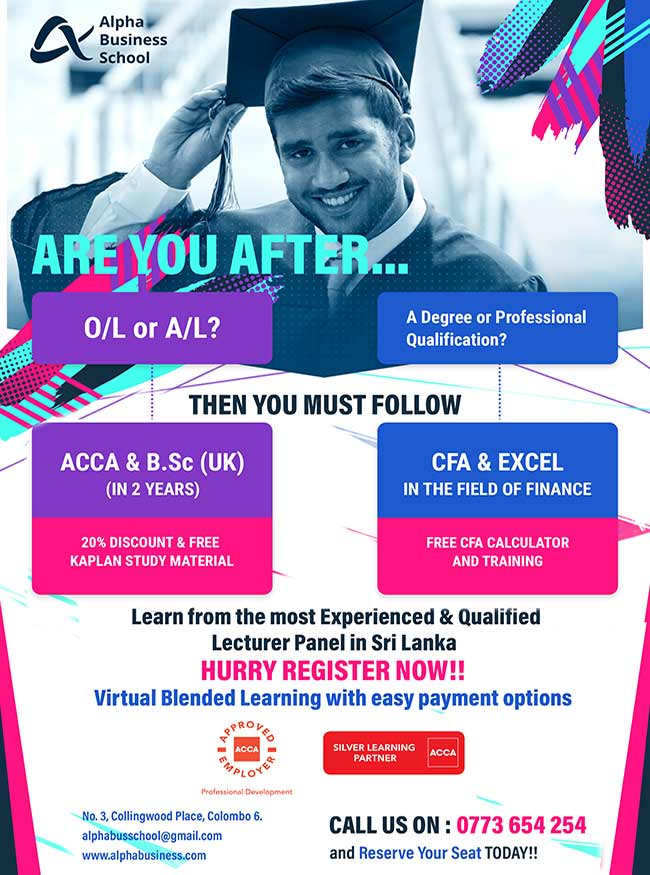 Invest in ACCA/CFA Education for a secure future | ABS