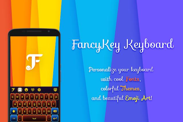 FancyKey  صمم لوحة المفاتيح الخاصة بك