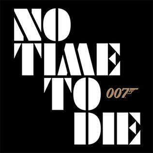 'James Bond: No Time to Die' title logo