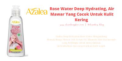 Air mawar merk Azalea