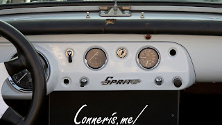 Austin Healey Sprite Dashboard