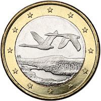 Suomi 1 euro kolikko