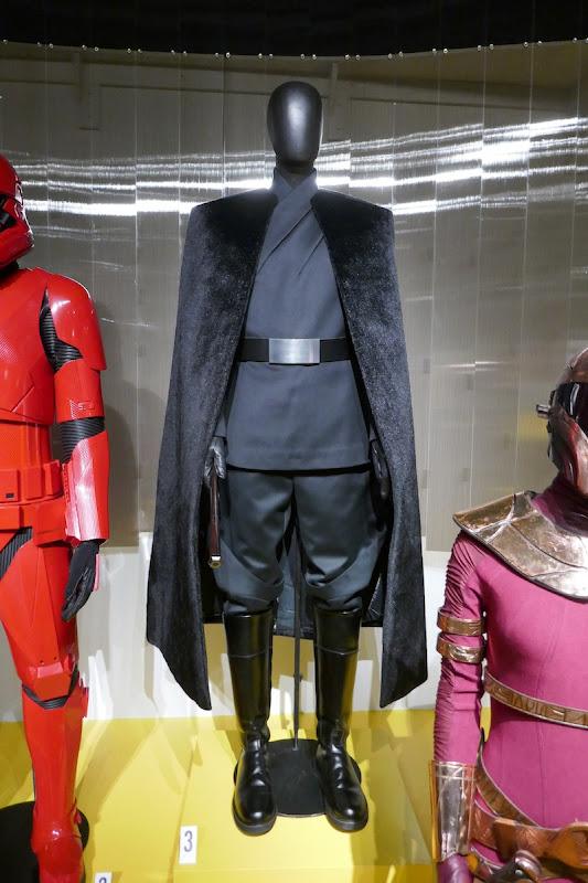 Richard E Grant Star Wars Rise of Skywalker General Pryde costume