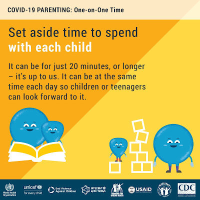 parenting spent time with each child WHO advice