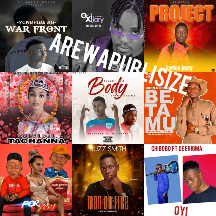 #Arewapublisize '10 Must download song's of September 2020- hosted by Hypeman vizzy