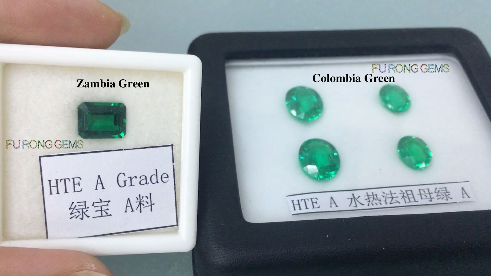 emerald loose created s aaa grown ebay itm ruby octagon shape hydrothermal stone lab