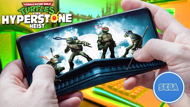 Teenage Mutant Ninja Turtles: The Hyperstone Heist Para Teléfonos Android (ROM SEGA)