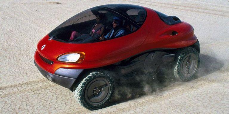 طراز رينو Renault Racoon