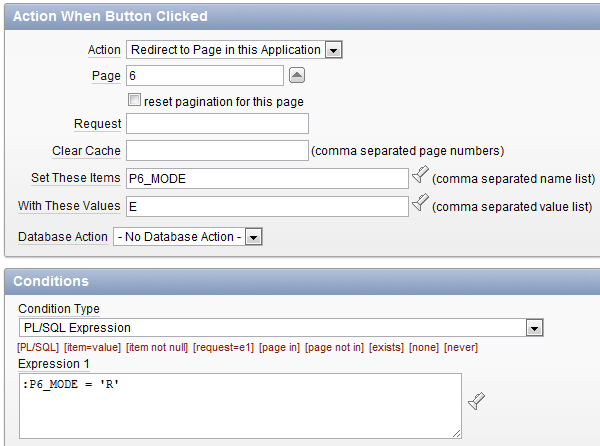 Grassroots Oracle: Apex Tutorial: Adding a Read Only Option