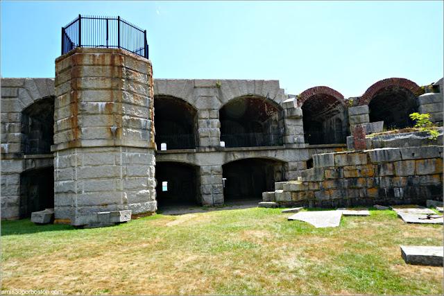 Fuerte Fort Popham en Phippsburg, Maine