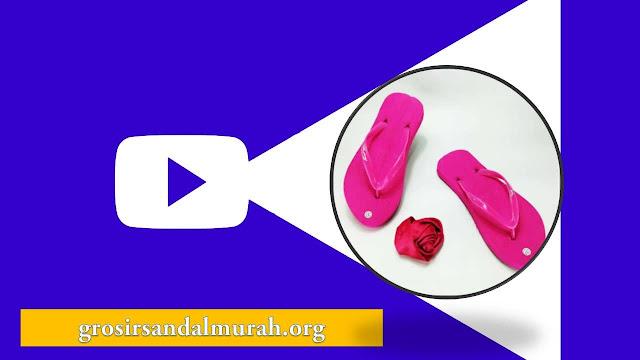 grosirsandalmurah.org - sandal wanita - Sandal Cewe Polos Warna