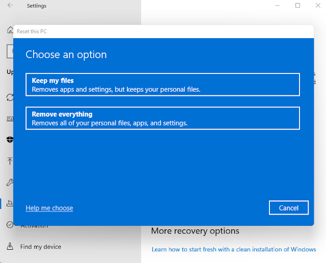 How to Reinstall Windows 11 without losing data