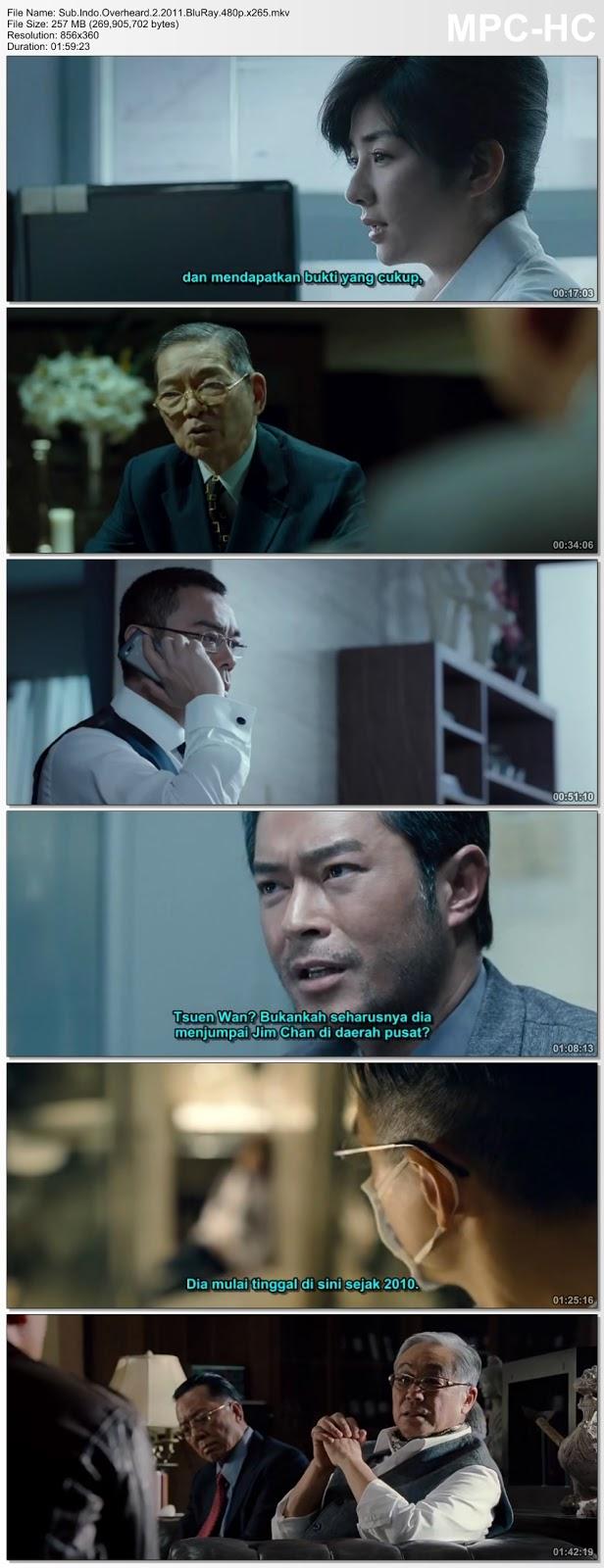 Screenshots Movie Sub.Indo.Sit ting fung wan 2 aka Overheard 2 (2011).BluRay.480p.x265.mkv