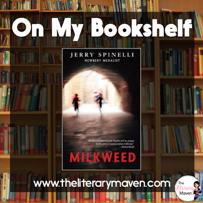 In Milkweed by Jerry Spinelli, Misha knows nothing: where his family is, where he came from, not even his own name. He joins a group of ragtag orphan boys, most of them Jewish who roam the city, eating and sleeping where they can, until the Warsaw ghetto is built and closed off from the rest of the city. Read on for more of my review and ideas for classroom application.