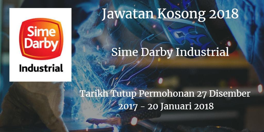 Jawatan Kosong Sime Darby Industrial 27 Disember 2017 - 20 Januari 2018