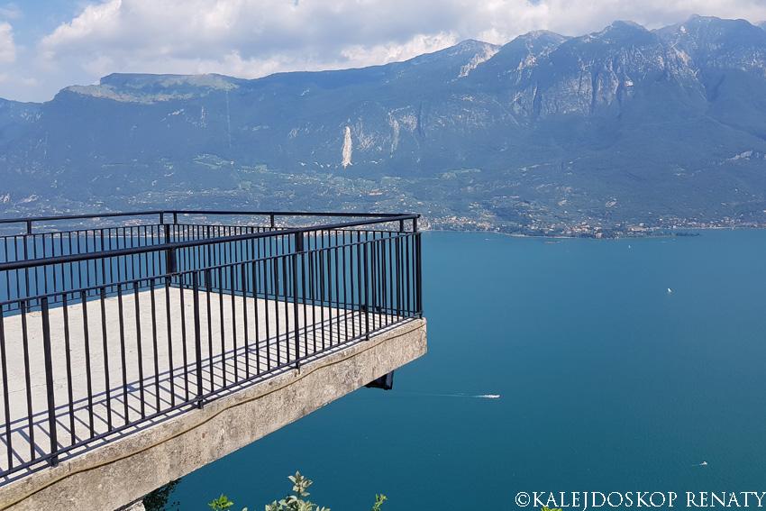 Widok na jezioro Garda
