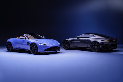 Aston Martin Launches Refreshed Vantage and Vantage Roadster for 2020