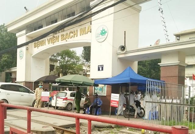 424 bệnh nhân, nhân viên y tế ở Hải Phòng đã đến BV Bạch Mai trong tháng 3