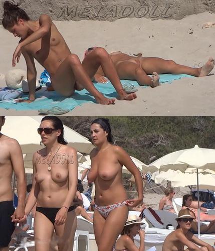 Nude at the Beach Topless Girls Filmed Voyeur (NudeBeach sb15016-15023)