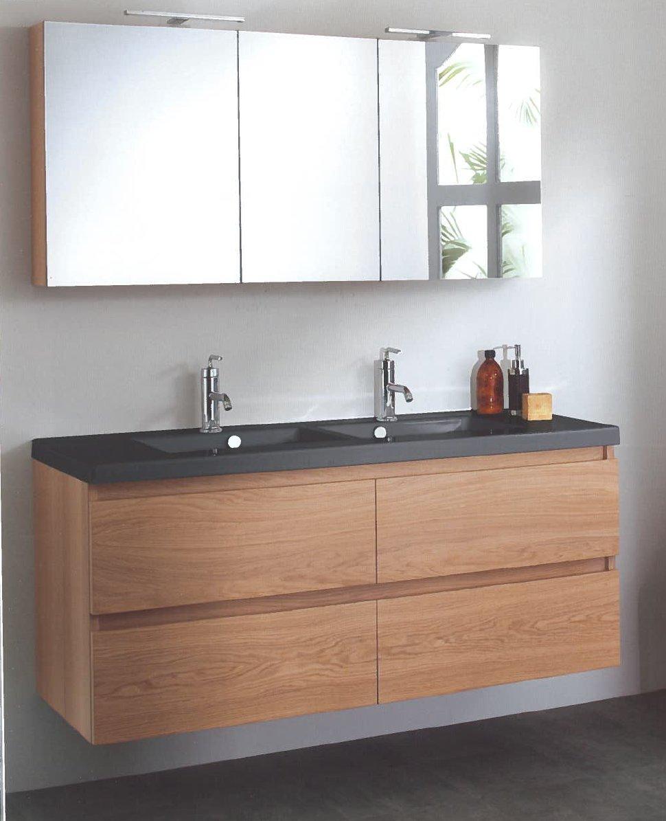 meuble salle de bain retro miroir vintage dans une salle de bain rustique with meuble salle de. Black Bedroom Furniture Sets. Home Design Ideas