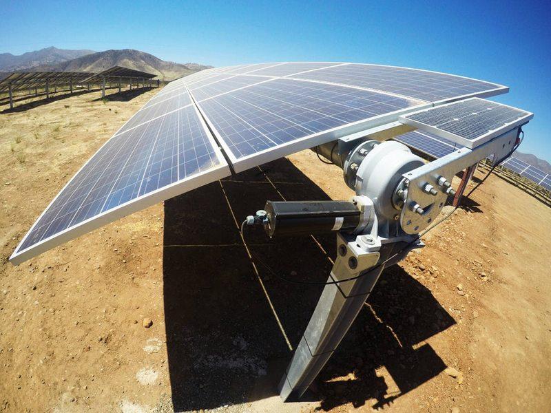 Parque solar de 160 hectáreas en la zona central