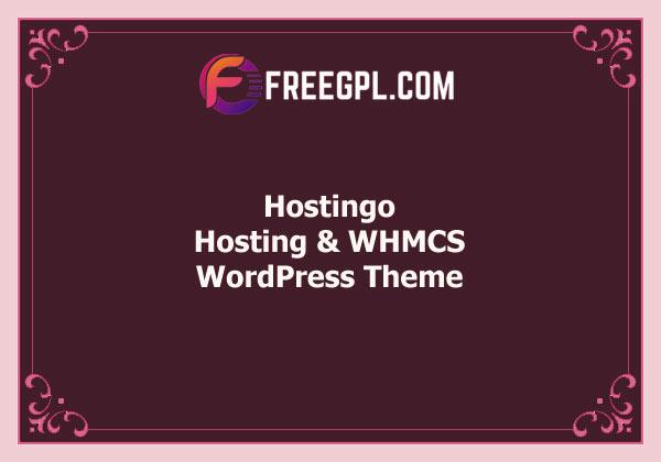 Hostingo - Hosting WordPress & WHMCS Theme Free Download