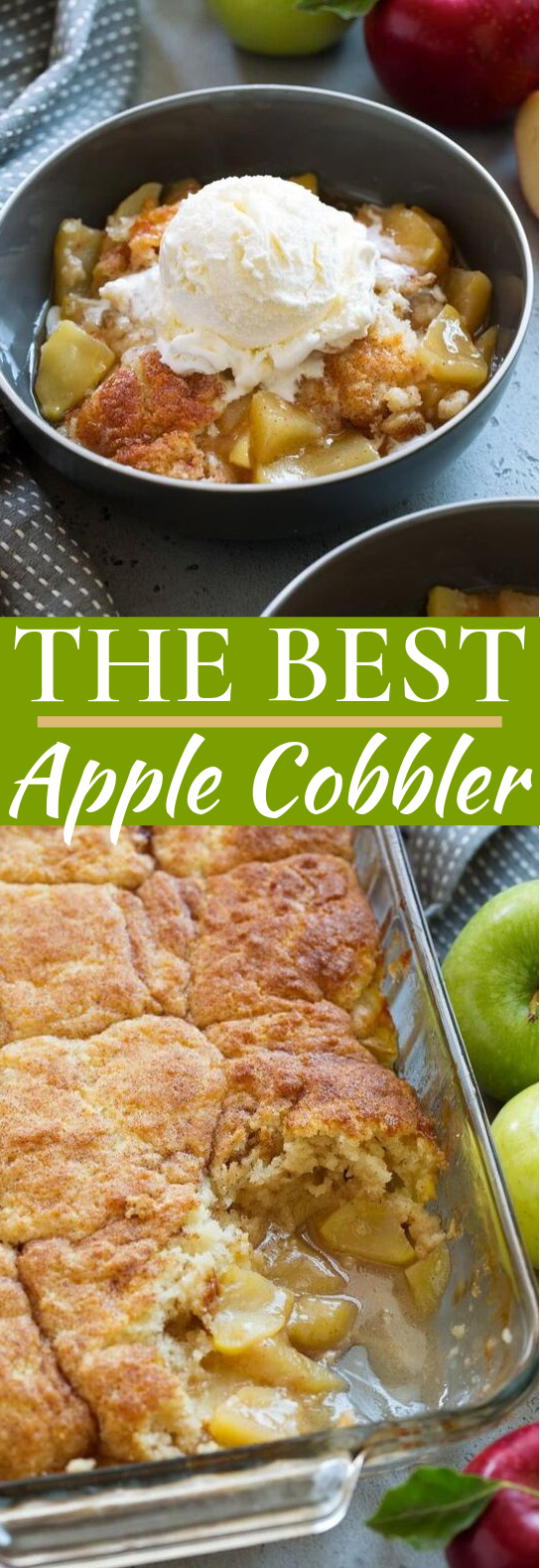 Apple Cobbler #desserts #apple