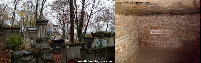 Viaje a París: cementerio de Pierre Lachaise Y Catacumbas