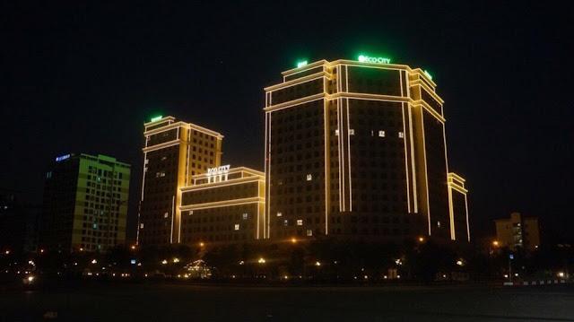 Hình ảnh dự án Eco city Long Biên tại thời điểm hiện tại