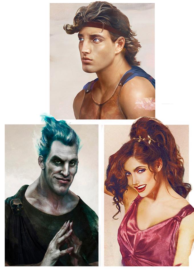 real life disney character Hercules персонажи Дисней в реальной жизни Геркулес