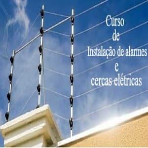 Curso de instalação de alarmes e cerca elétricas.
