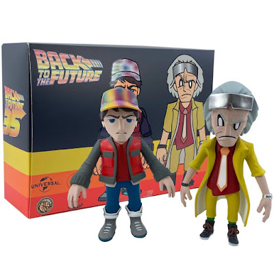 Back to the Future 2 Marty McFly & Doc Brown Vinyl Figure Box Set by Touma x 3DRetro