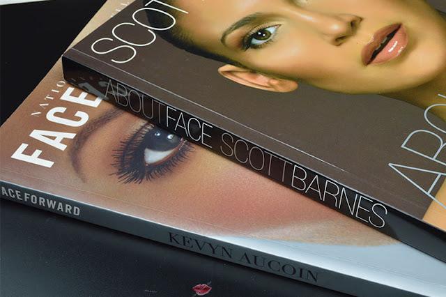 Libri Makeup, about face, scoot barnes, face foward, kevyn aucoin, libri trucco makeup artist, truccatore