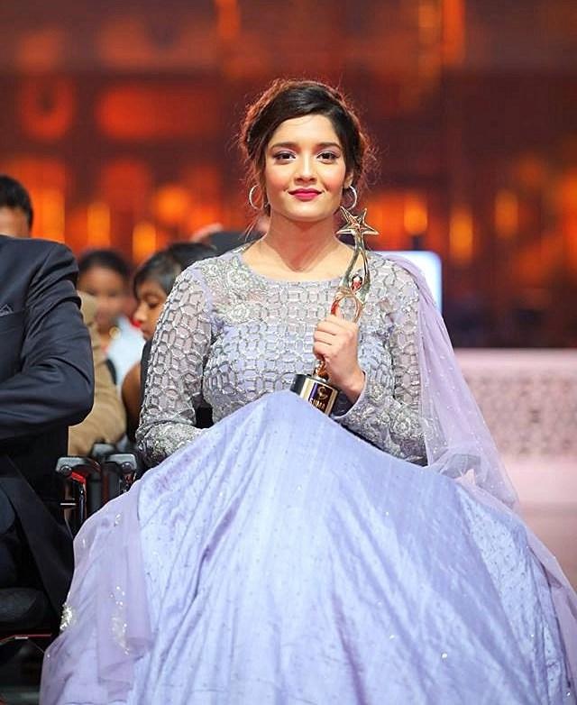 Actress Ritika Singh Photos At SIIMA Awards 2017