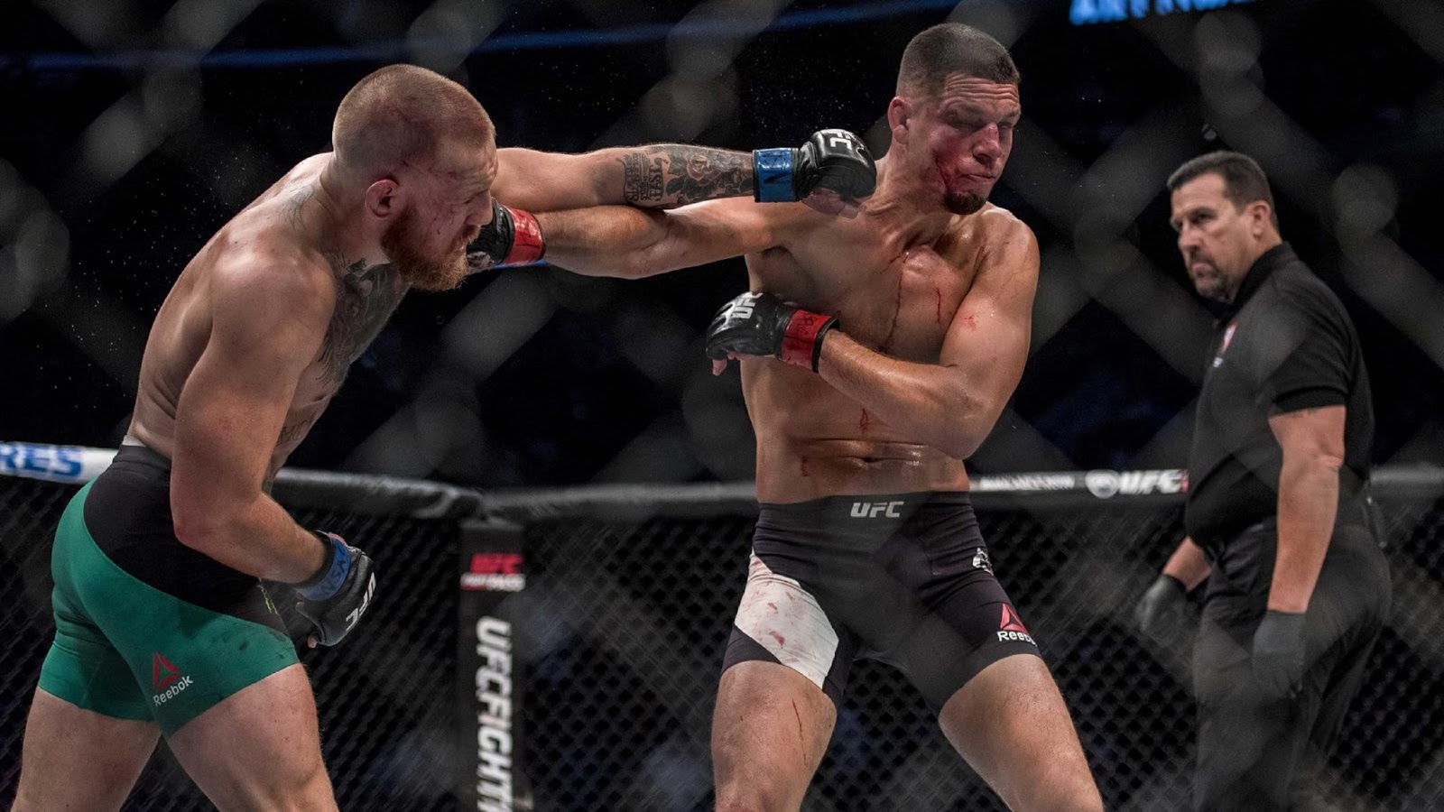 CONOR MCGREGOR VS. NATE DIAZ 14