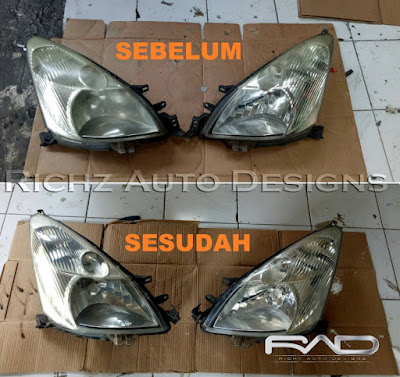 cuci headlamp