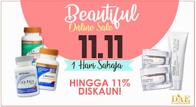 shaklee beautiful 11.11 online sale