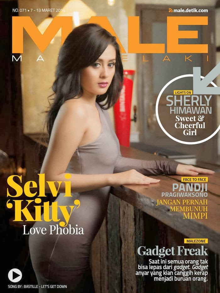 Selvi Kitty on Cover Male Magazine March 2014
