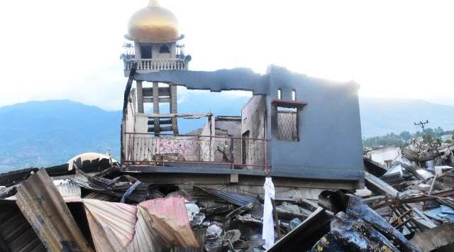 Bendera Putih Berkibar Dimana-mana, Balaroa Palu Jadi Kuburan Massal
