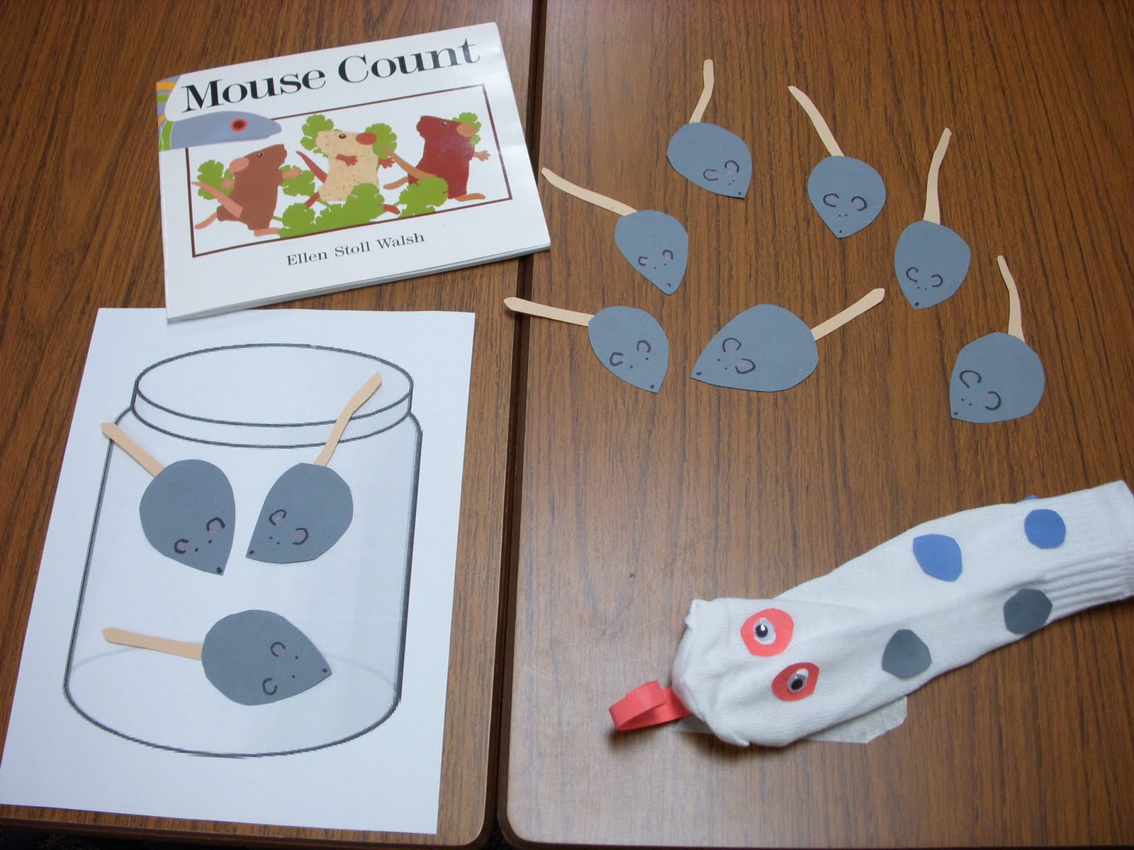 Kinder Garden: Live, Laugh, Learn: Mouse Count