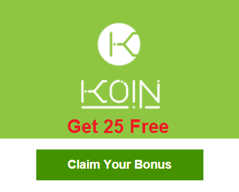 احصل على 25 KOIN مجانا مع شبكة كوين لفتره محدوده