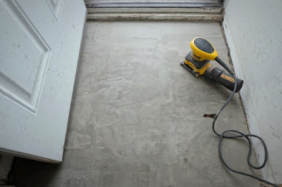 skim coat concrete floor