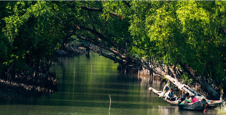 Also world's biggest mangrove forest Sundarbans