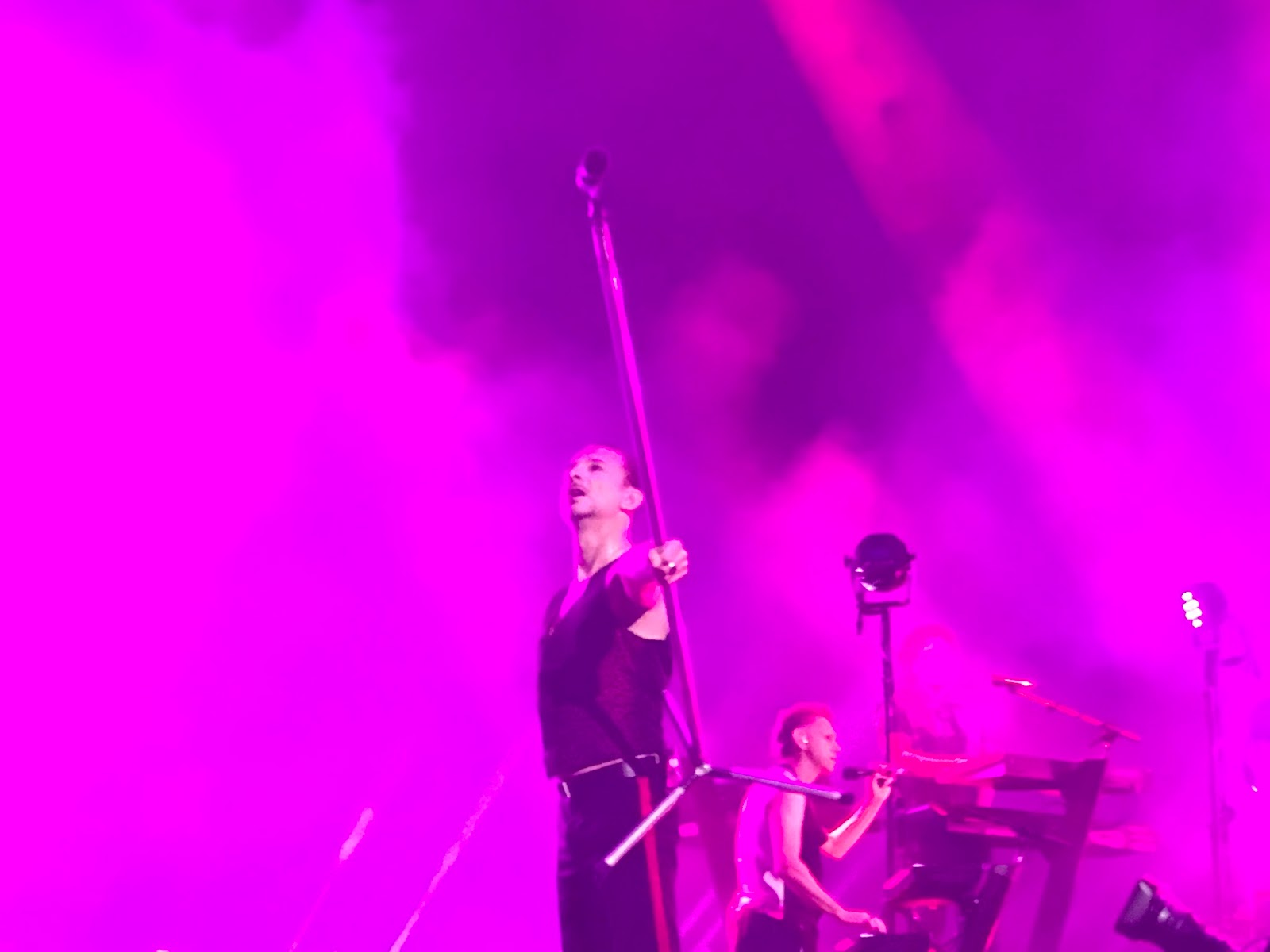 Almost Predictable Almost Live Review Depeche Mode Mattress Firm Amphitheatre San Diego 6