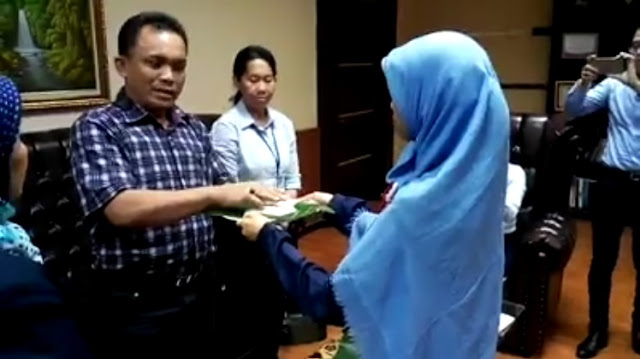 Perselisihan di Kantor KPP Lubuk Pakam Medan, Oknum Minta Maaf dan Semua Dianggap Selesai