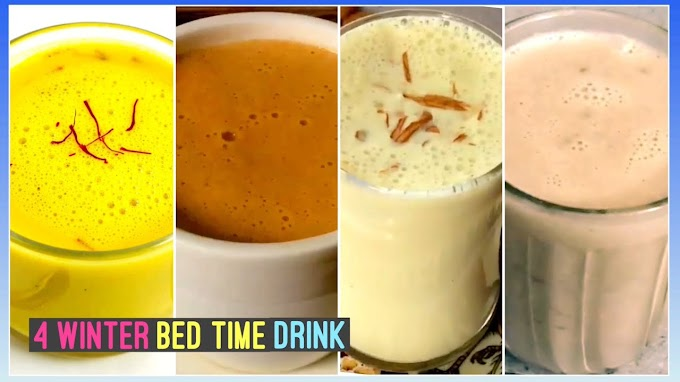4 Bed time Drink for Winters Drinks for Fat Loss Hormonal Balance & To Boost Metabolism