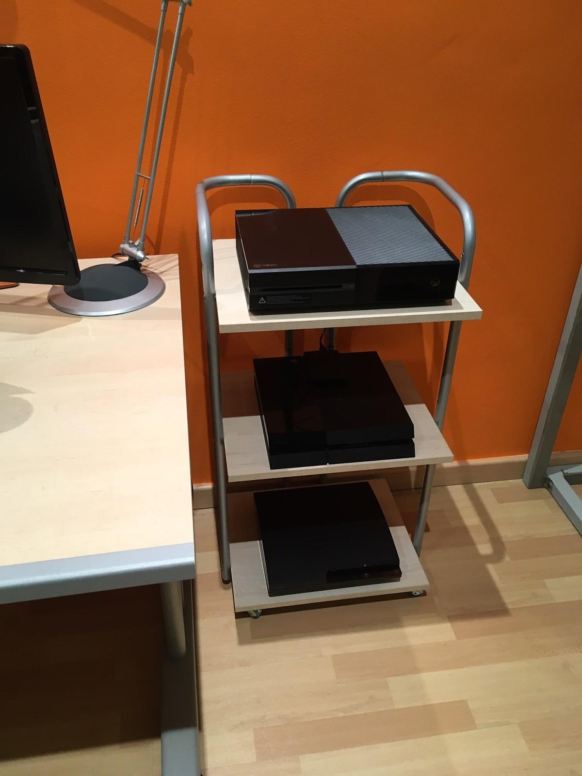 Chicho blog resultado final del mueble para consolas 2 2 for Mueble para xbox one