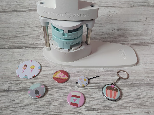 Button Press de We R Memory Keepers